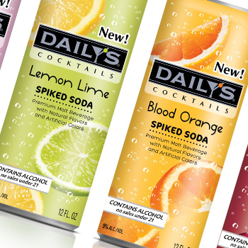 Daily's Spiked Soda – New Product Launch