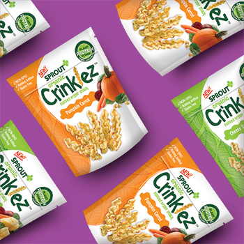 Sprout Organic Foods continues to innovate with launch of Organic Crinklez!