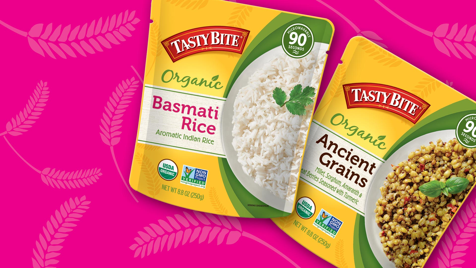 Tasty Bite Organic Basmati Rice & Organic Ancient Grains
