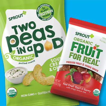 New Veggie-Packed Snacks With Taste Kids Love from Sprout
