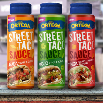 New Ortega® Street Taco Sauces Drive Innovation In Mexican Aisle