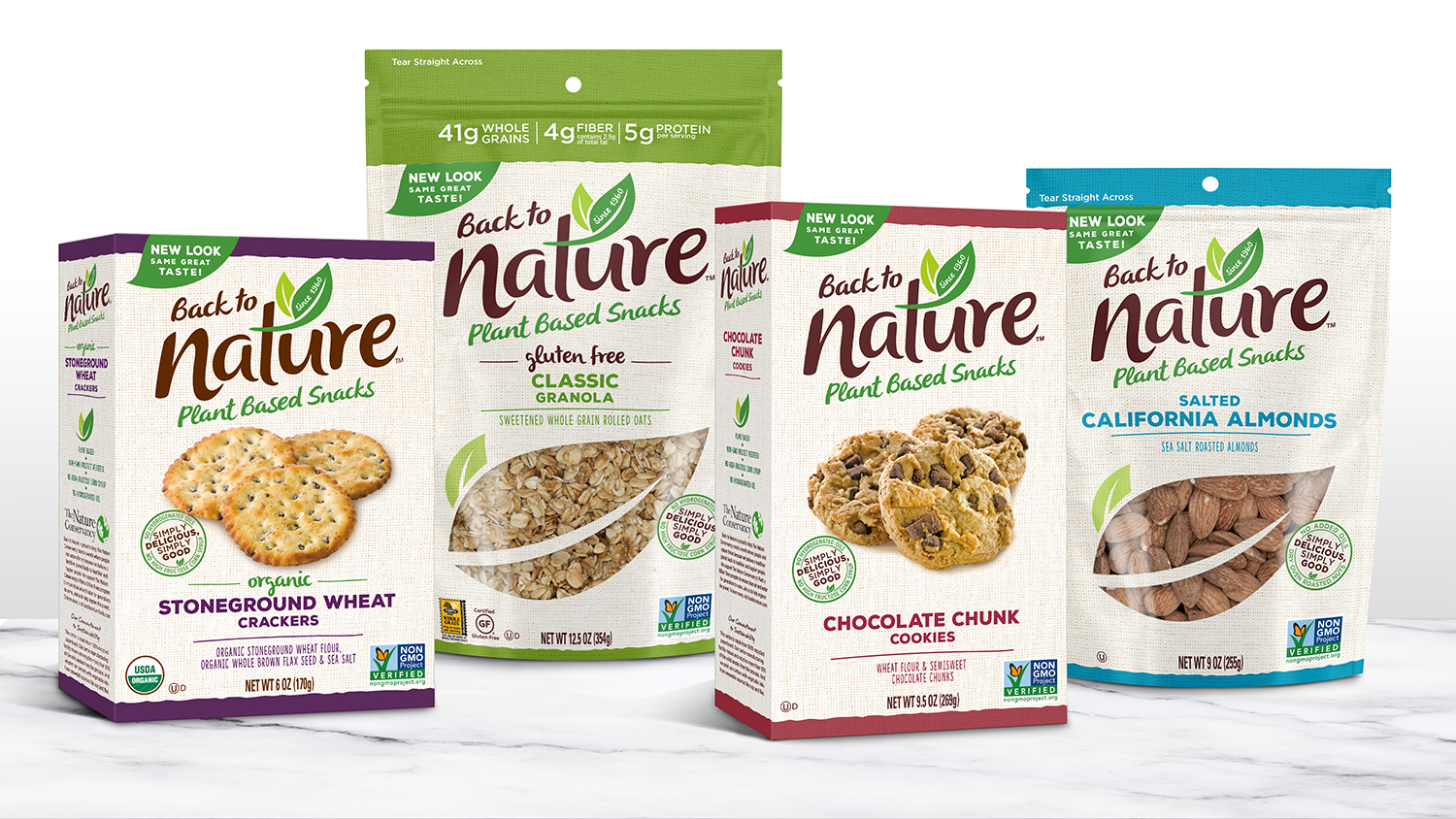 Back to Nature package design